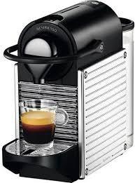 Nespresso Pixie Coffee Machine Steel Silver C60 ME SS NE