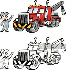 100 Tow Truck Vector Cartoon Stock Vector Getty Images
