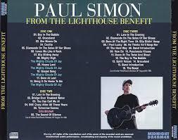 Paul Simon From The Lighthouse Benefit 3CDR – GiGinJapan