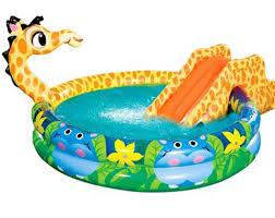 Inflatable Swimming Pool Slides