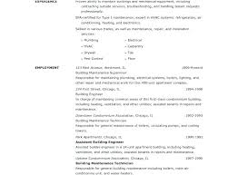 Maintenance Resume Sample Residential House Cleaner And Janitorial