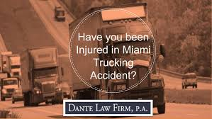 100 Miami Truck Accident Lawyer Have You Been Injured In Ing By VICTOR DANTE Issuu