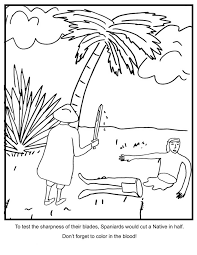 Columbus Day Coloring Pages 4new