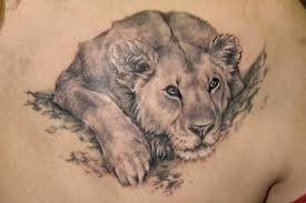 The Realistic Looking Lion In This Leo Tattoo Has A Very Soft Look On His Otherwise Feisty Face It Impressively Shows How Not All People Or Lions Are Same