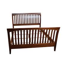 Ethan Allen Sleigh Beds by Traditional Ethan Allen American Impressions Solid Cherry Queen Size Bed 7023