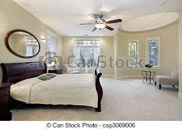 chambre a coucher de luxe maison maître luxe chambre à coucher secteur séance image