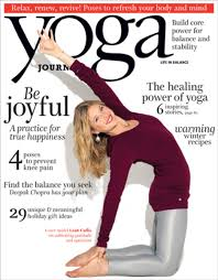 December Issue Cover Leah Cullis Yoga Journal