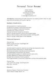 Sample Tutor Resume Top For Bsc Nursing