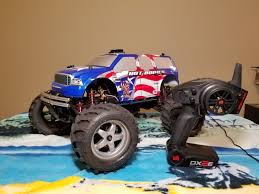 100 Rc Truck For Sale Traxxas Tmaxx 25 Converted To Electric With Traxxas
