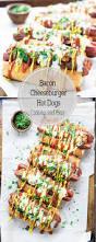 Halloween Hotdog Fingers Recipe by Bacon Cheeseburger Dogs