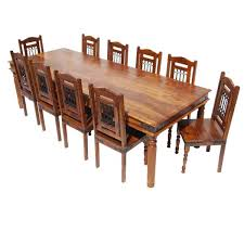 100 Large Dining Table With Chairs San Francisco Rustic Furniture With 10 Set