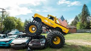Showtime Monster Truck: Michigan Man Re-creates One Of The Coolest ... 5 Biggest Dump Trucks In The World Red Bull Dangerous Biggest Monster Truck Ming Belaz Diecast Cstruction Insane Making A Burnout On Top Of An Old Sedan Ice Cream Bigfoot Vs Usa1 The Birth Of Madness History Gta Gaming Archive Full Throttle Trucks Amazoncom Big Wheel Beast Rc Remote Control Doors Miami Every Day Photo Hit Dirt Truck Stop For 4 Off Topic Discussions On Thefretboard