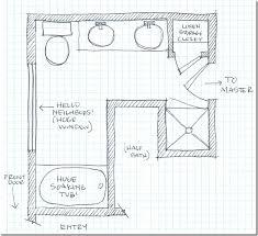 Small Master Bathroom Floor Plan by Remodelaholic Dream Master Bathroom Inspiration
