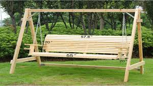 Patio Swings With Canopy Home Depot by Ideas Wooden Porch Swing Canopy Swing Outdoor Bed Patio