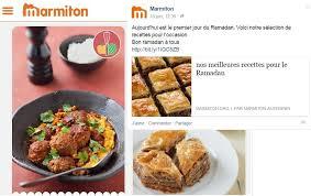 site recette de cuisine le site marmiton noyé sous les injures après avoir publié des