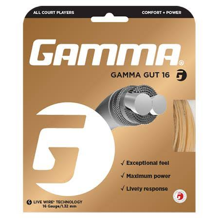 Gamma Gut 16 Tennis String - 1.32mm