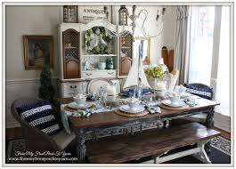 From My Front Porch To Yours French Farmhouse Nautical Dining Room