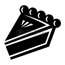 Pie Slice Vector Icon Royalty Free Cliparts Vectors And Stock Illustration Image