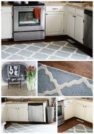 Large Area Rug In Kitchen