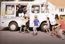 A Brief History Of The Ice Cream Truck | Mental Floss Fifteen Classic Novelty Treats From The Ice Cream Truck Bell The Menu Skippys Hand Painted Kids In Line Reese Oliveira Shawns Frozen Yogurt Evergreen San Children Slow Crossing Warning Blades For Cream Trucks Ben Jerrys Ice Truck Gives Away Free Cups Of Cherry Dinos Italian Water L Whats Your Favorite Flavor For Kids Youtube