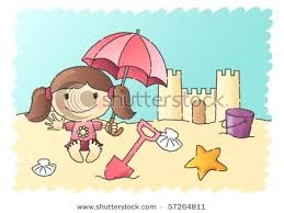 Sandcastle Clip Art Sand Castle Sketch Build Clipart