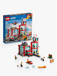 LEGO City 60215 Fire Station At John Lewis & Partners