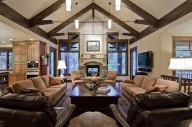 vaulted ceiling lighting living room ravishing lofty inspiration