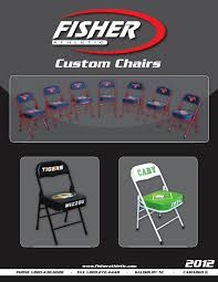 2012 Fisher Athletic Custom Chairs By Fisher Athletic - Issuu Amazoncom San Francisco 49ers Logo T2 Quad Folding Chair And Monogrammed Personalized Chairs Custom Coachs Chair Printed Directors New Orleans Saints Carry Ncaa Logo College Deluxe Licensed Bag Beautiful With Carrying For 2018 Hot Promotional Beach Buy Mesh X10035 Discountmugs Cute Your School Design Camp Online At Allstar Pnic Time University Of Hawaii Hunter Green Sports Oak Wood Convertible Lounger Red