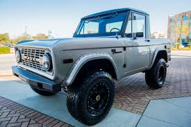 1967 Early Ford Bronco Half Cab For Sale | Velocity Restorations