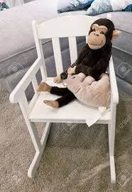 Monkey Doll And Toy Mouse Waiting Kid On A Modern White Rocking ... Mainstays Outdoor 2person Double Rocking Chair Walmartcom Modern White Tipp City Designs Buy Edgemod Em121whi Rocker Lounge In At Contemporary On The Back Side Isolated Background 3d Model Aosom Hcom Wood Indoor Porch Fniture For Grey And Illum Wikkelso Mid Century Wire Mesh By For Sale Black And Dcor The Lifestyle I Like White Plastic Rocking Chair Brighton East Sussex Gumtree Design Classic Eames Set