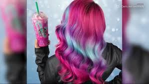 Starbucks Unicorn Drink Inspires Magical Hairstyle
