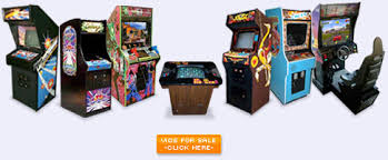 Arcade Games And Pinball Machines