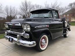 1959 Chevrolet Apache For Sale   ClassicCars.com   CC-1082661 Custom 1950s Chevy Trucks For Sale Your Truck Very Nice 1958 Chevrolet Apache Pick Up Sale 2196038 Hemmings Motor News 1961 C20 Pickup Fleetside On Bat Auctions 1965 C10 For In Bc 350 Small Block Classic Car 1955 In Fulton County 1956 Big Window Short Bed Stepside Hot Rod Network 1959 3100 Stock 139365 Near Columbus Oh 4x4 18097 San Ramon Ca Classiccarscom Cc909448