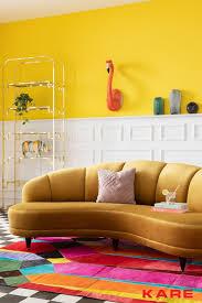 macht das wohnzimmer zum gelben salon home decor living