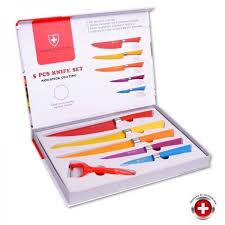 coffret couteau cuisine coffret 5 couteaux couleurs imperial collection achat vente