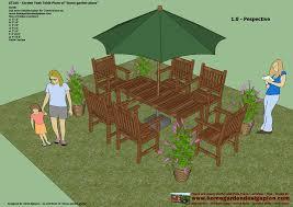 home garden plans furniture
