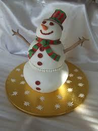 tutoriel pour faire un gâteau bonhomme de neige en 3d mes