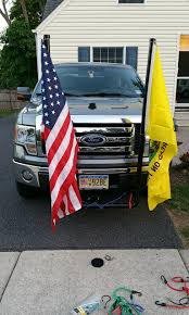 100 Flag Pole For Truck Just Finished My Flag Poles For A Country Music Festival I Am Going