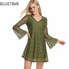 popular green lace skater dress buy cheap green lace skater dress