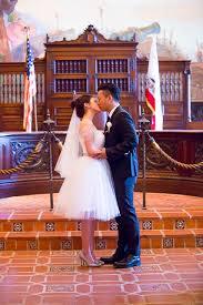 santa barbara courthouse elopement tiffany james