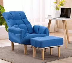 faul sofa stuhl sessel mit hocker armlehne wohnzimmer rückenlehne kopfstütze einstellbare accent stuhl ergonomischer sitz liege