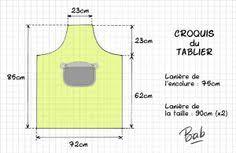 coudre un tablier de cuisine patron tablier patchwork 15