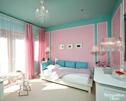 Modern Bedroom Ideas For Teenage Girls With Teal And Pink Colors Decor