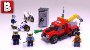 100 Lego City Tow Truck LEGO Set Trouble 60137 Live Build Review