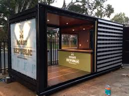 100 Shipping Containers Converted Old Shipping Container Is Converted Into A Chic Coffee Shop In
