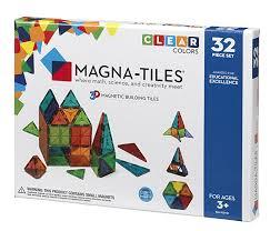 magna tiles clear colors 32 set industrial