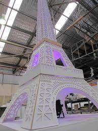 Kardashian Kollection Runway Eiffel Tower