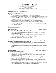 Sample Resume For Kitchen Helper Unique Ideas Unit Clerk Objective Examples Ixiplay Free
