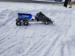 100 Rc Truck Snow Plow We Got 67 Inches Of Snow Last Night Time To Put My Now