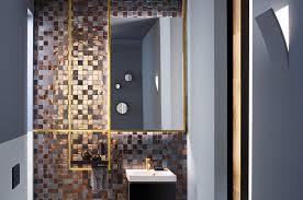 ein hauch luxus gold setzt optische glanzlichter im bad